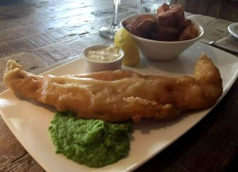 St George & Dragon Wargrave Gastropub Menu Girl's Lunch Henley Regatta Battered Cod Chips