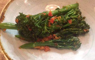 Lure Fish Kitchen North London Kentish Town Seafood Restaurant Broccoli Ginger Chilli