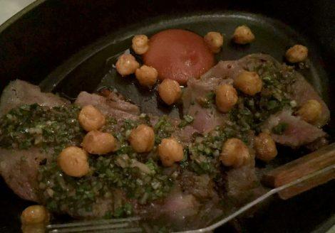 The Ninth Charlotte St Fitzrovia London Mediterranean Tapas Restaurant Jun Tanaka Iberia Pork Loin Herb Vinaigrette