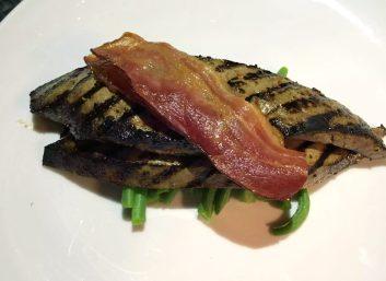 A Quinta Restaurant Almancil Algarve Portugal Liver Bacon