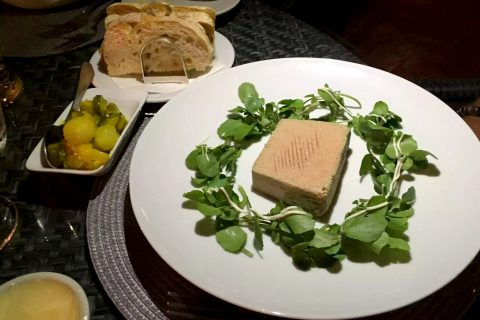 A Quinta Restaurant Almancil Algarve Portugal Pate Foie Gras