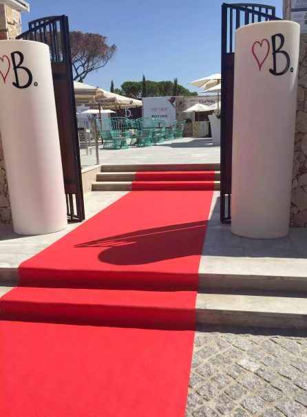 Bovino Love Brunch Quinta do Lago Algarve Portugal Red carpet