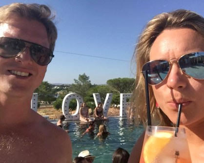 Bovino Love Brunch Quinta do Lago Algarve Portugal Pool Party