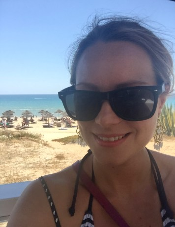Marias Restaurant - Praia de Garrao - Algarve - Portugal - Beach View