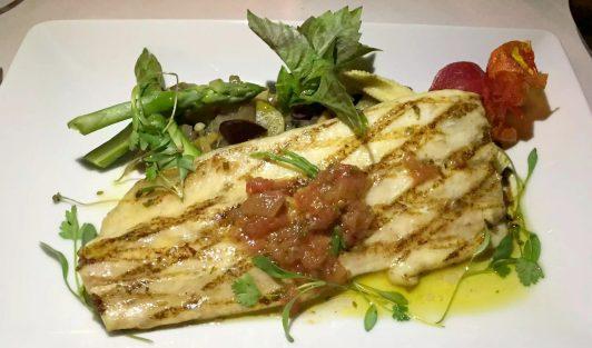 Pequeno Mundo Restaurant - Algarve - Portugal Sea Bream Salsa Verde