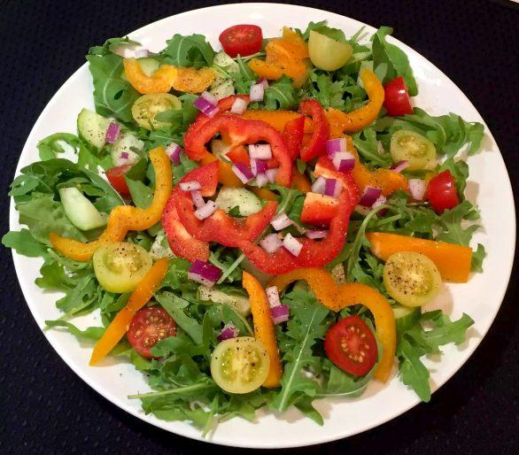 Prosciutto Wrapped Jumbo Shrimp Appetiser SCD Paleo Dairy-Free Grain-Free Gluten-Free Sugar-Free Mango Salsa Onion Chilli Coriander