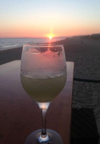 3moco Beach Bar - Praia d'ancho, Algarve, Portugal by Emma Eats & Explores