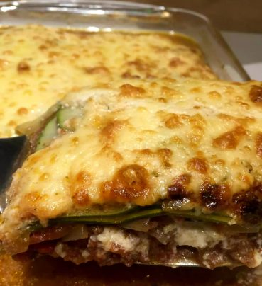 Paleo Lasagne by Emma Eats & Explores - SCD, Paleo, Grainfree, Glutenfree, Sugarfree