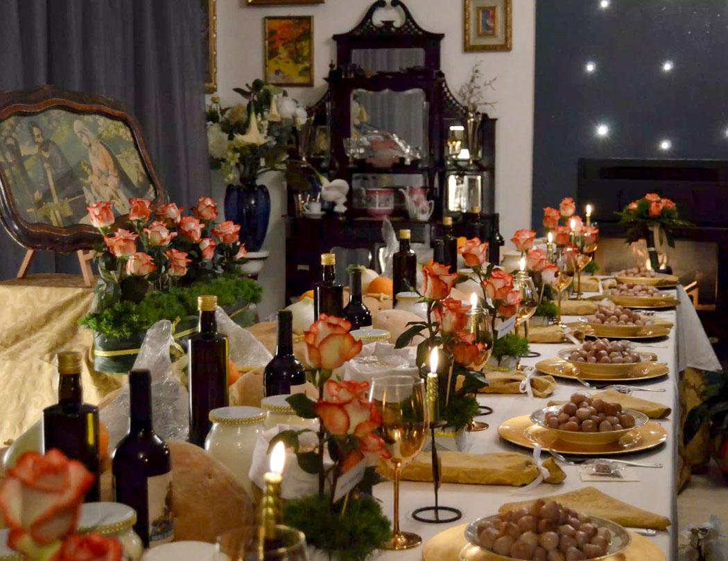 Tavole di San Giuseppe – St Joseph's Tables