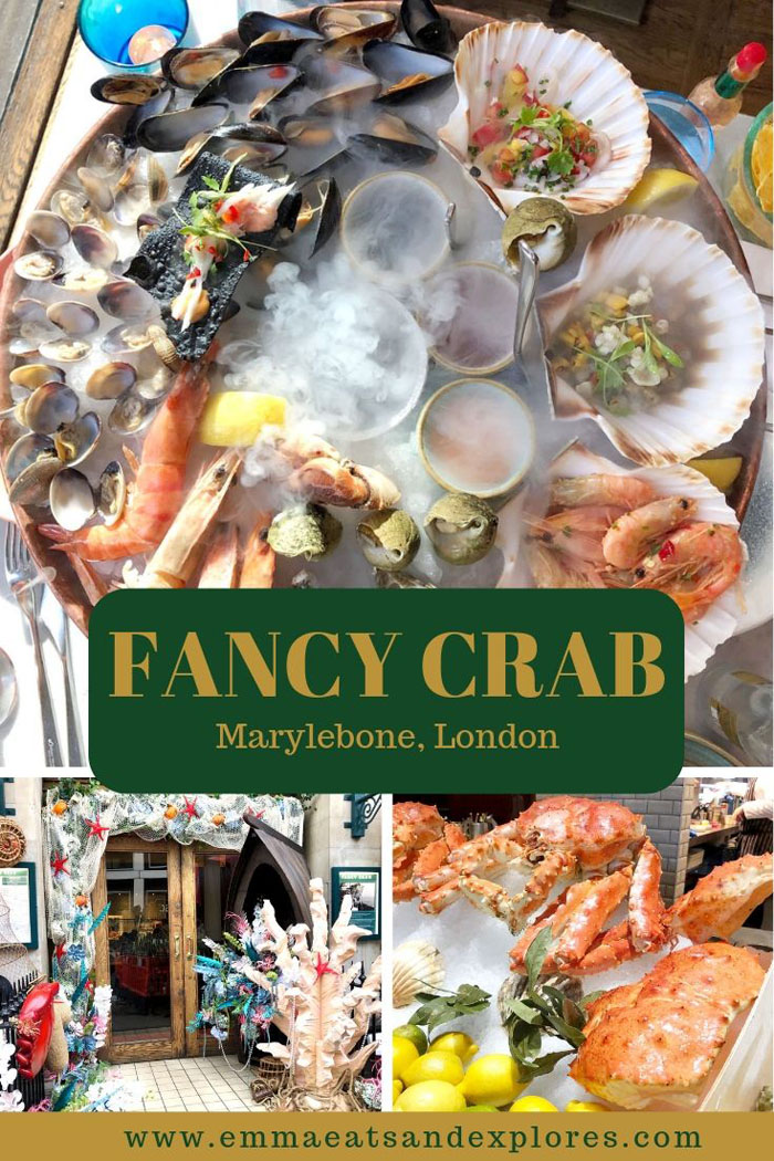 Fancy Crab, Marylebone, London