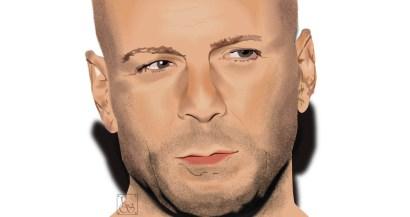 Celebrity Vector - Bruce Willis