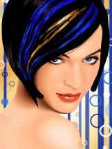Celebrity Vector - Milla Jovovich