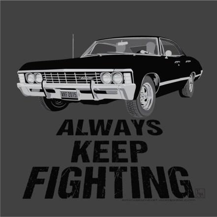 Baby, Always Keep Fighting