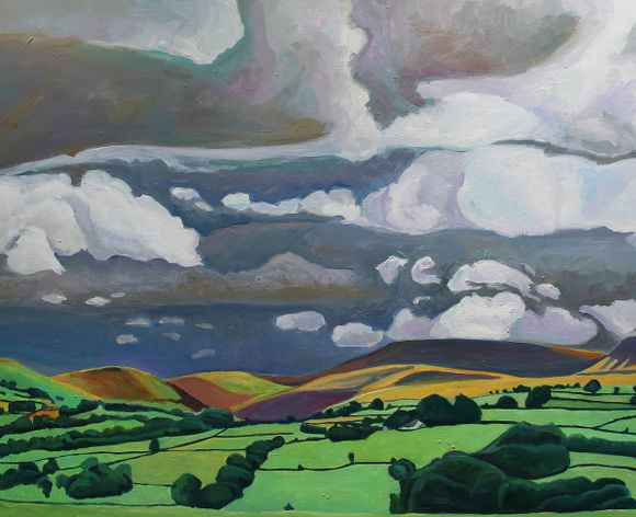 Brecon Becons Painting