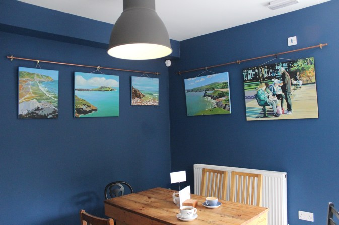Art Exhibition in Brynmill Coffee House