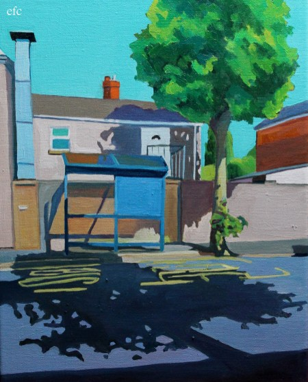 Bus Stop (back of Brynmill Launderette)