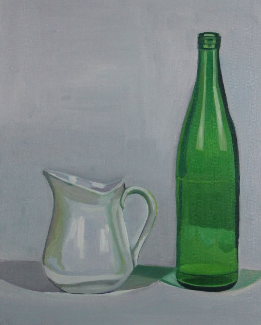 Bottle and Milk Jug