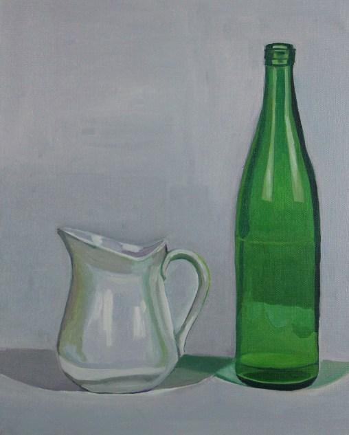 Bottle and Milk Jug