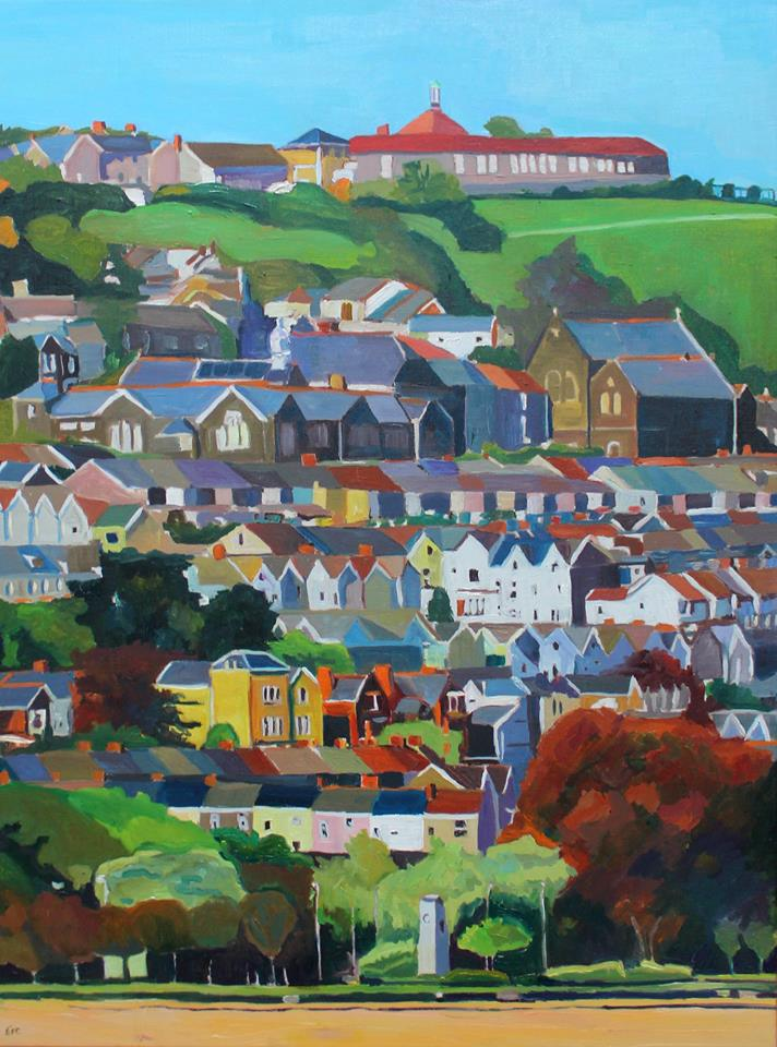 Painting of Swansea Seafront