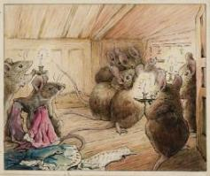 The Mice Hear Simpkin Outside c.1902 Helen Beatrix Potter 1866-1943 Presented by Capt. K.W.G. Duke RN 1946 http://www.tate.org.uk/art/work/A01105