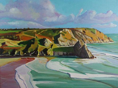 Coloured Sands at Three Cliffs