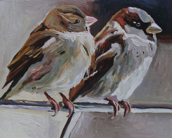 Mr and Mrs Sparrow