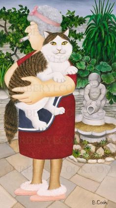 8e9c3e3127b4011531b147b2f2834d8f--fat-cats-cat-art
