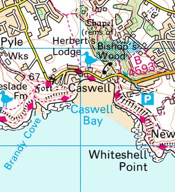 Caswell Map