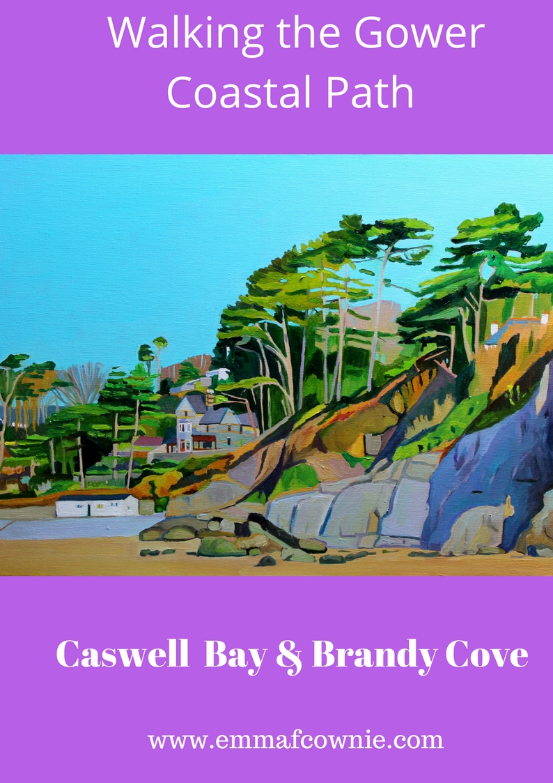Walking the Gower Coast: Caswell Bay & Brandy Cove