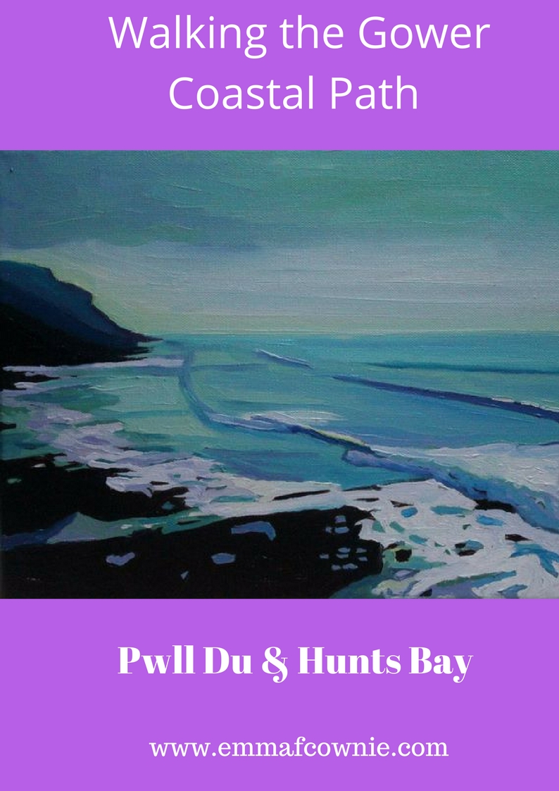 Walking the Gower Coast: Pwll Du and Hunts Bay