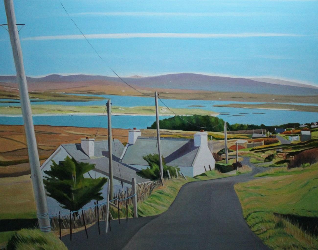 landscape painting of Ireland