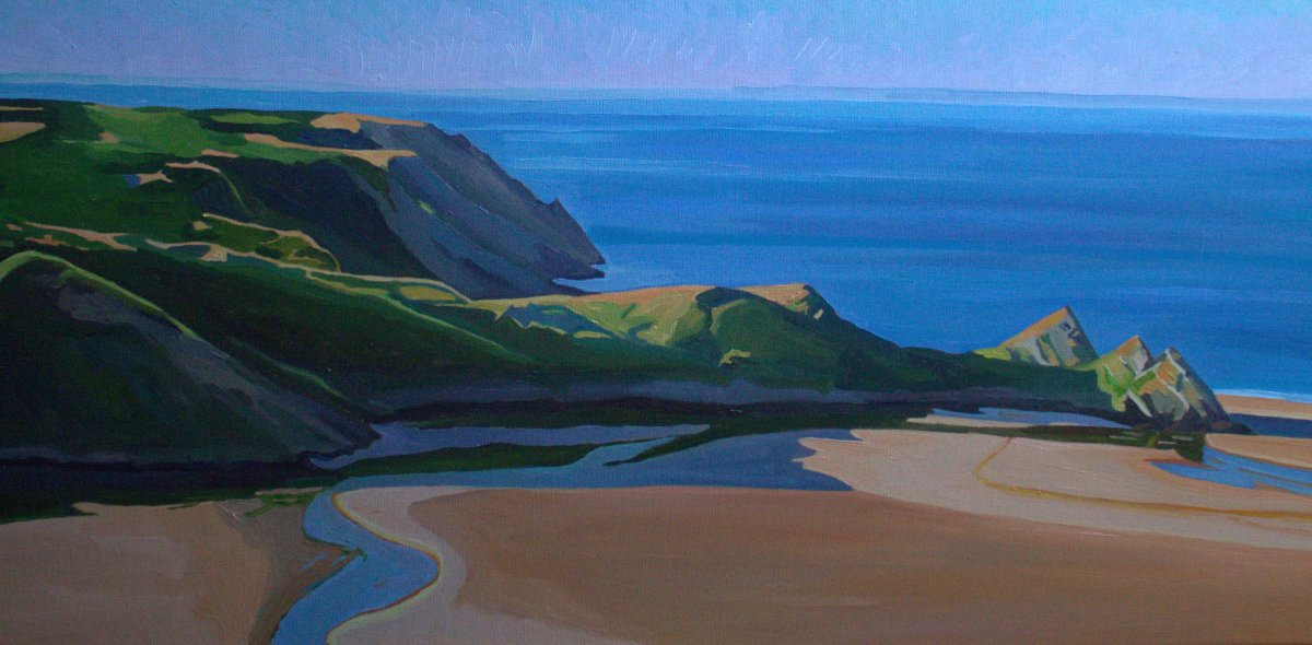 First Light, Three Cliffs Bay