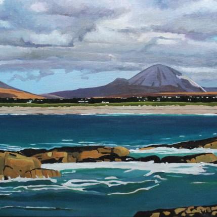Mount Errigal from Ballymanus Beach, Donegal