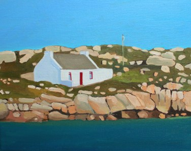 Irish Cottage, Arranmore, Donegal, Ireland