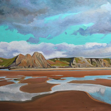 painting of Gower, for sale, Gower painting