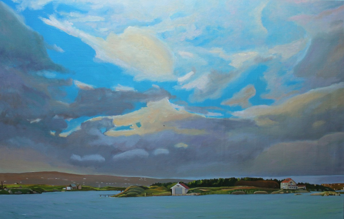 Painting of Donegal Coast_Emma Cownie
