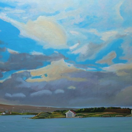 Painting of Donegal Coast