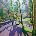 Painting of woods