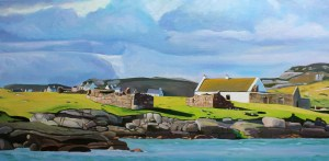donegal painting of Gola, West Donegal, Emma Cownie.