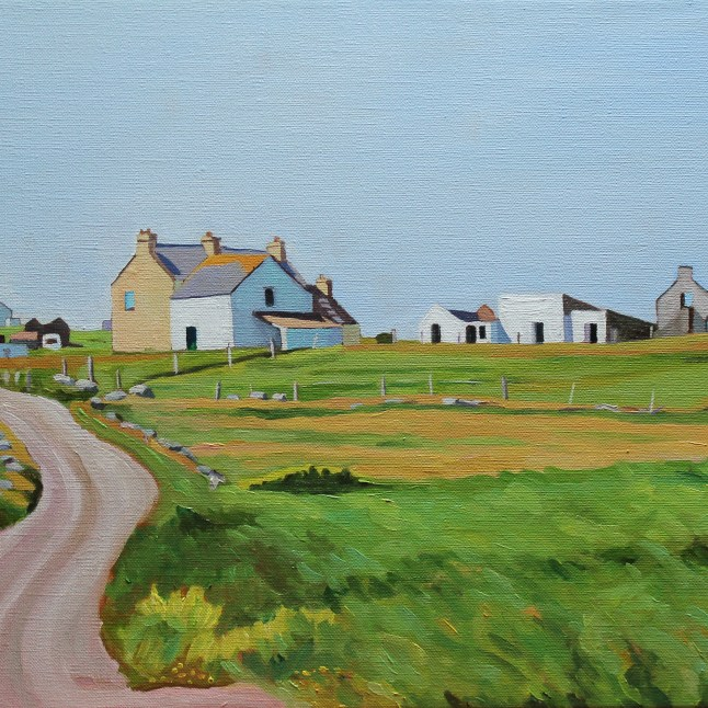 Painting of Donegal, Gola