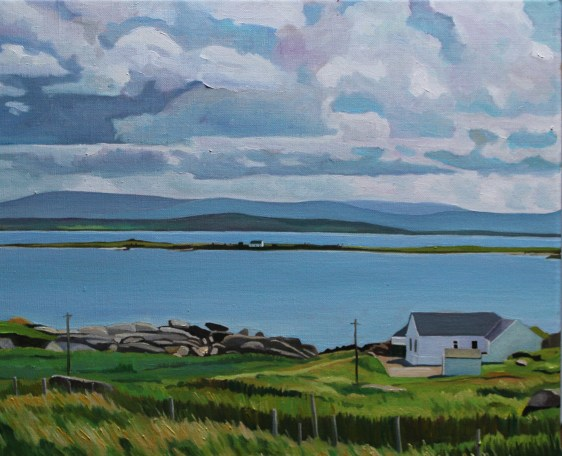 Painting of Donegal Island of Inishkeeragh_EmmaCownie