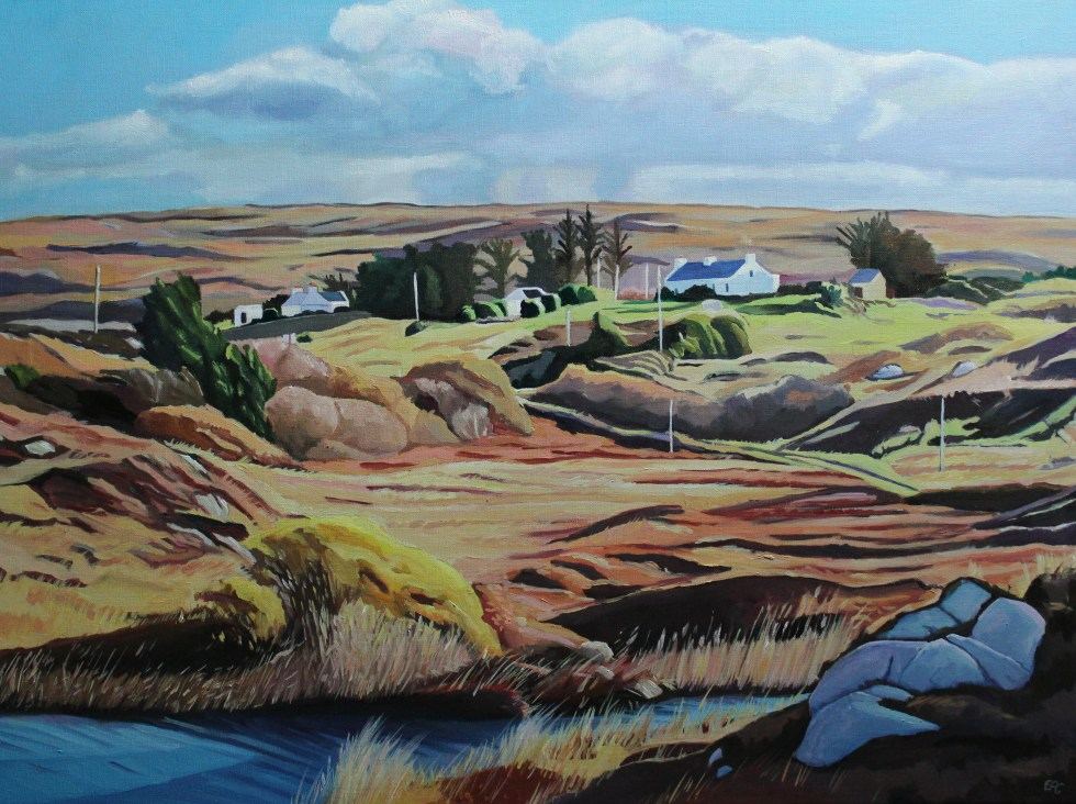 Donegal Ireland landscape painting Emma Cownie