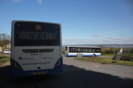 Buses at Llanrhidian Turn
