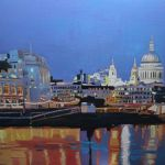 Towards St Pauls
