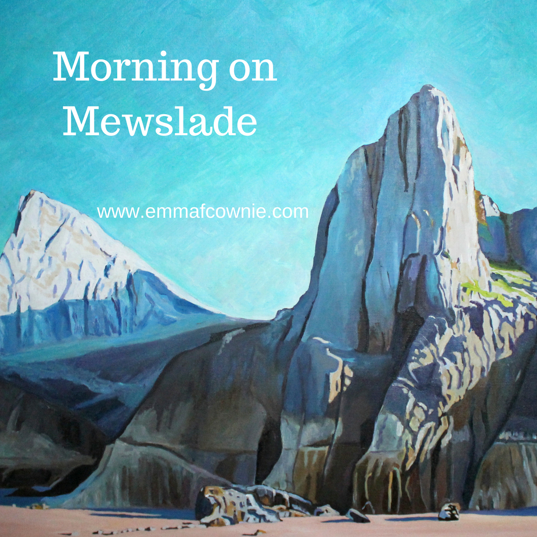 Morning on Mewslade