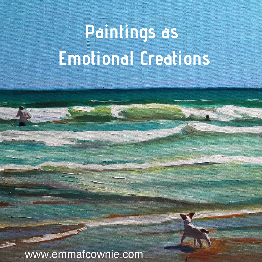 Paintings as Emotional Creations