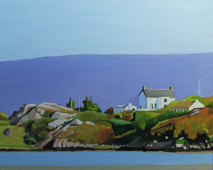 Landscape painting of the Rosses, West Donegal, Ireland