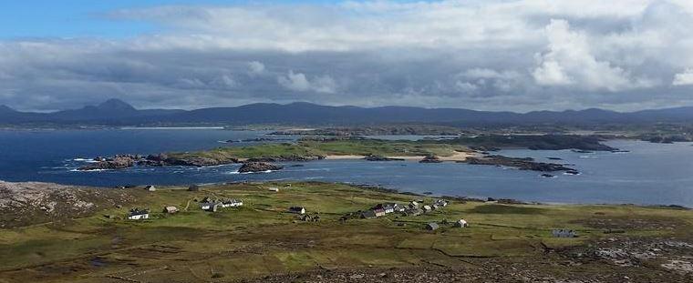 View of Ireland From Owey Island: Ian Miller