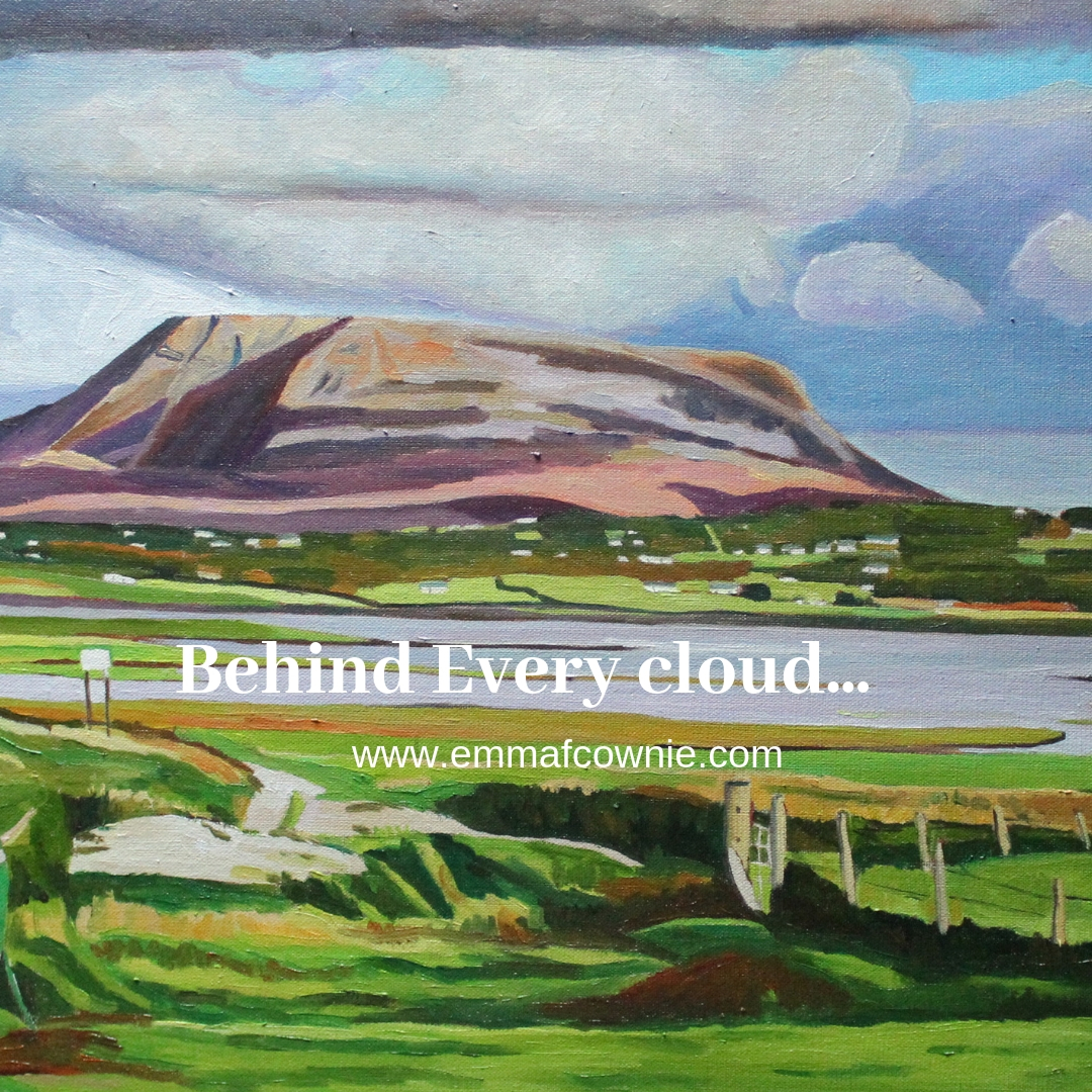 Behind every cloud …