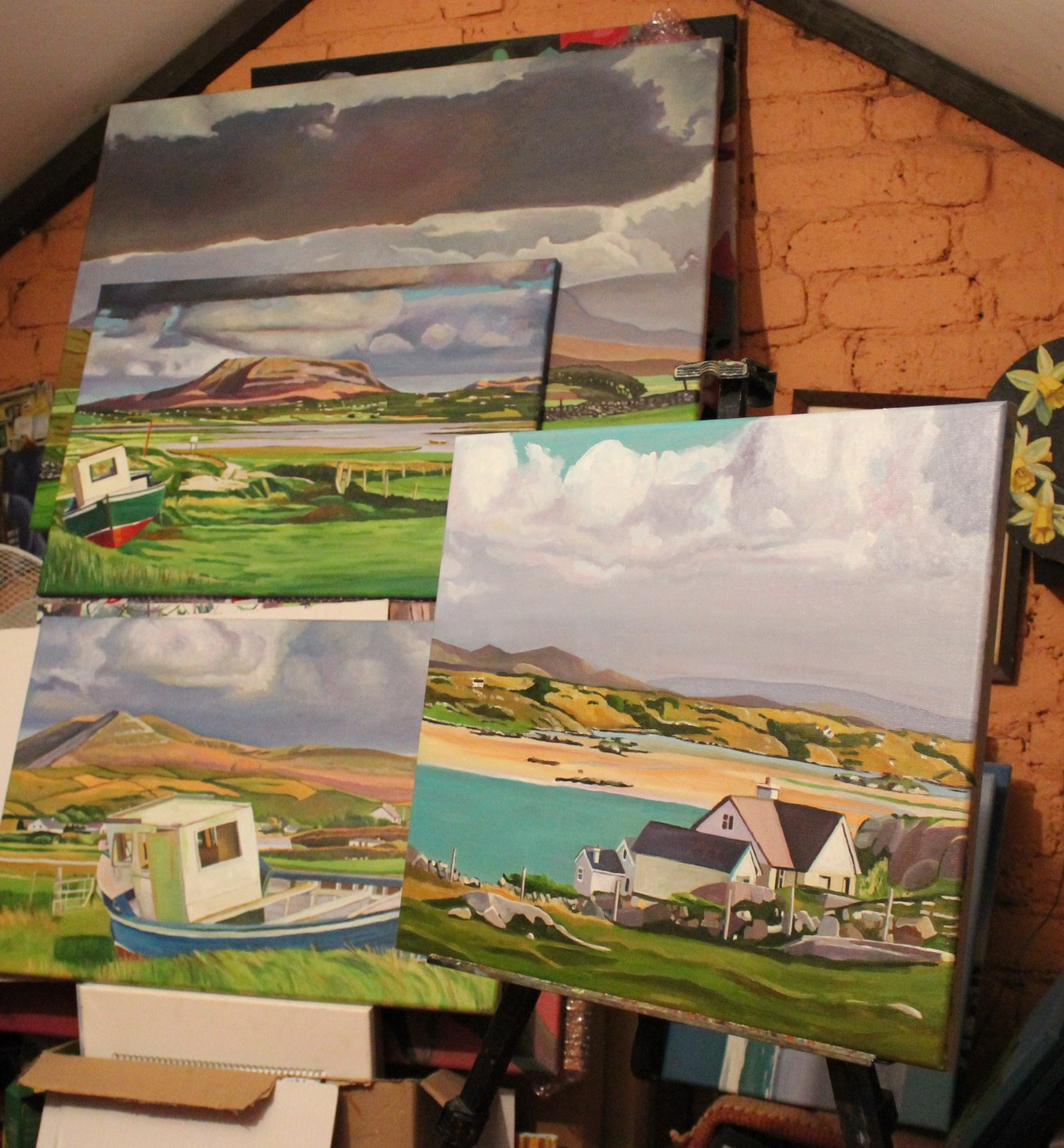 Oil paintings of Donegal, Ireland